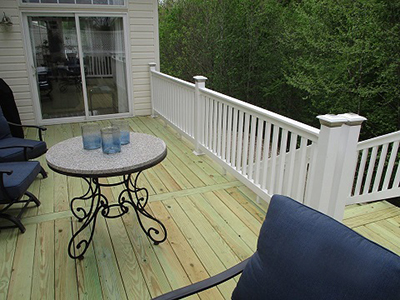 Deck Upgrade Chesapeake Beach MD